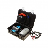 COMPRESSOR KIT TWIN PORTABLE 24V